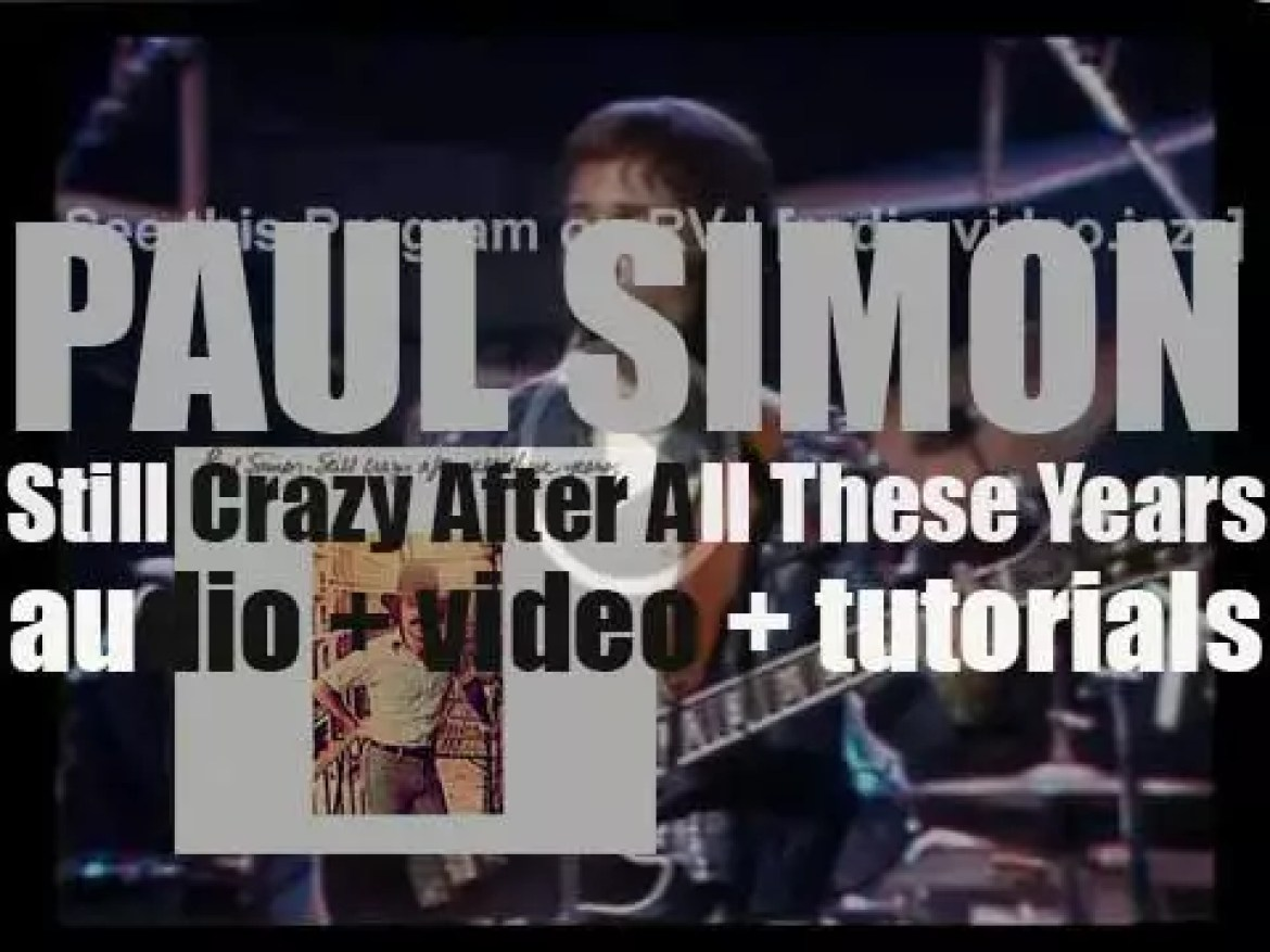 Paul Simon releases his fourth album : 'Still Crazy After All These Years' featuring '50 Ways to Leave Your Lover' (1975)