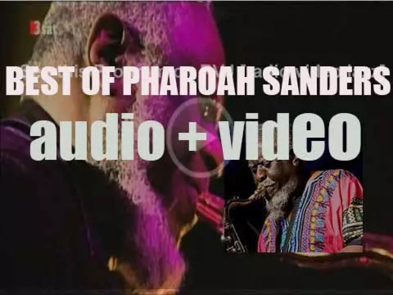 Happy Birthday Pharoah Sanders. 'Tenor Spiritual'