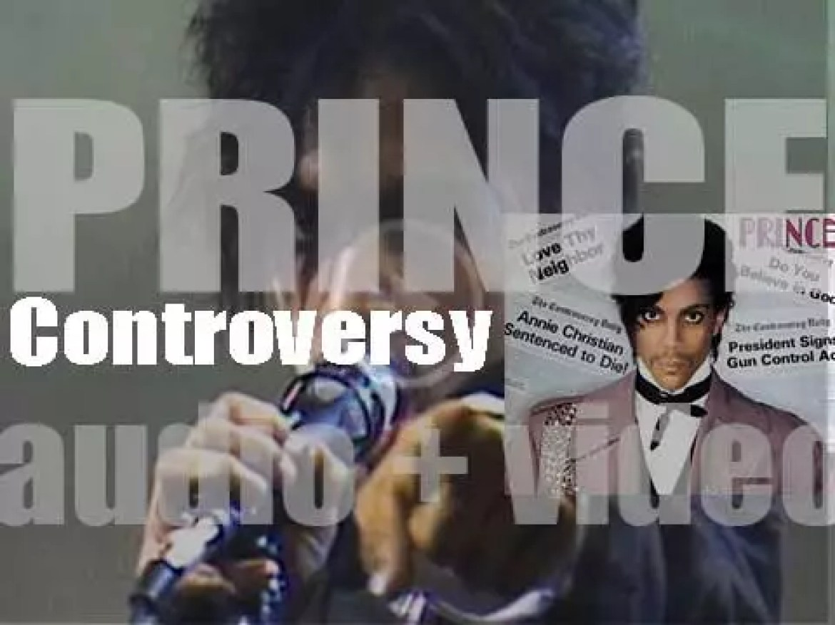 Warner Bros. publish Prince's fourth album : 'Controversy' featuring 'Sexuality' (1981)