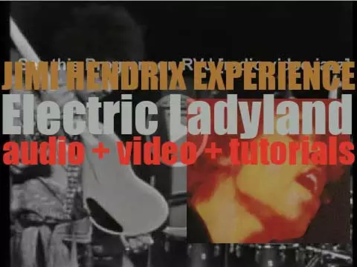 Jimi Hendrix Experience release 'Electric Ladyland,' their third and final album featuring 'Crosstown Traffic' 'Voodoo Chile' and 'Burning of the Midnight Lamp' (1968)