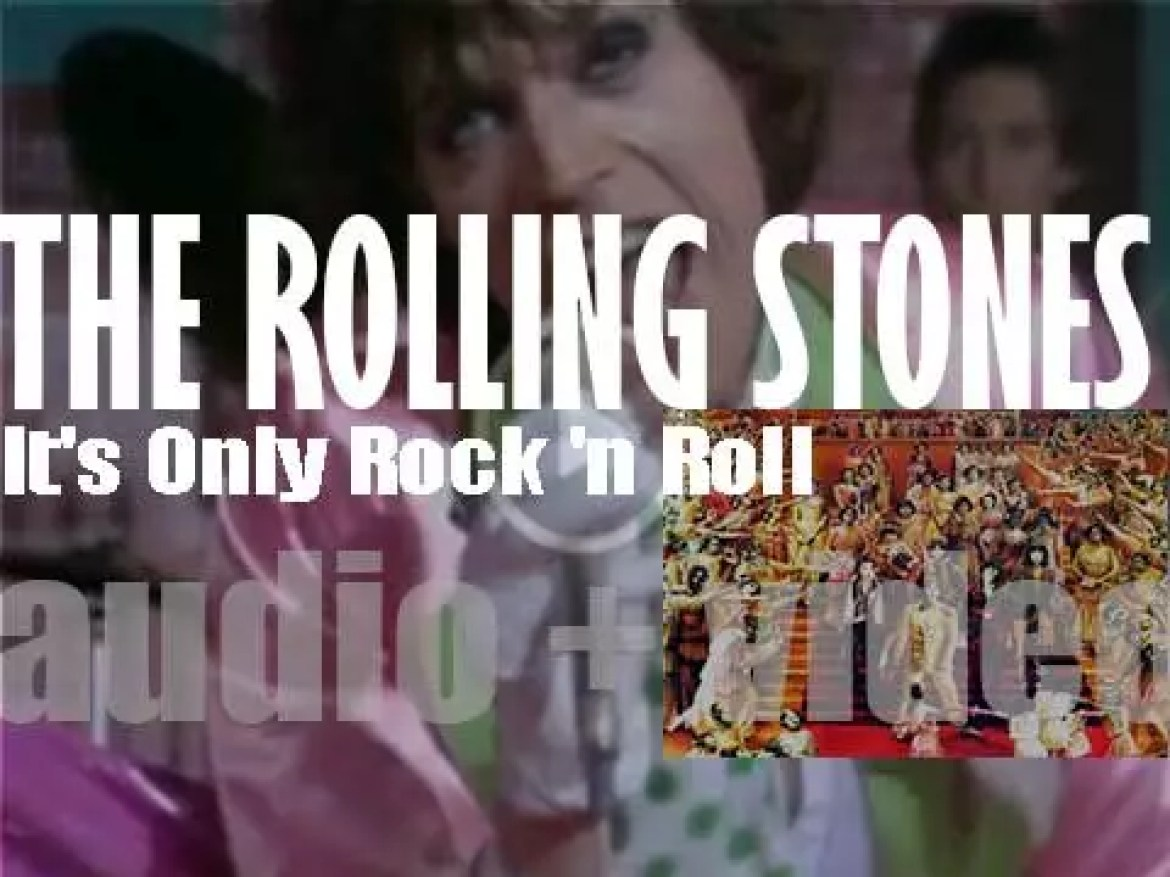 The Rolling Stones release their twelfth album : 'It's Only Rock 'n Roll' featuring the title track and 'Ain't Too Proud to Beg' (1974)