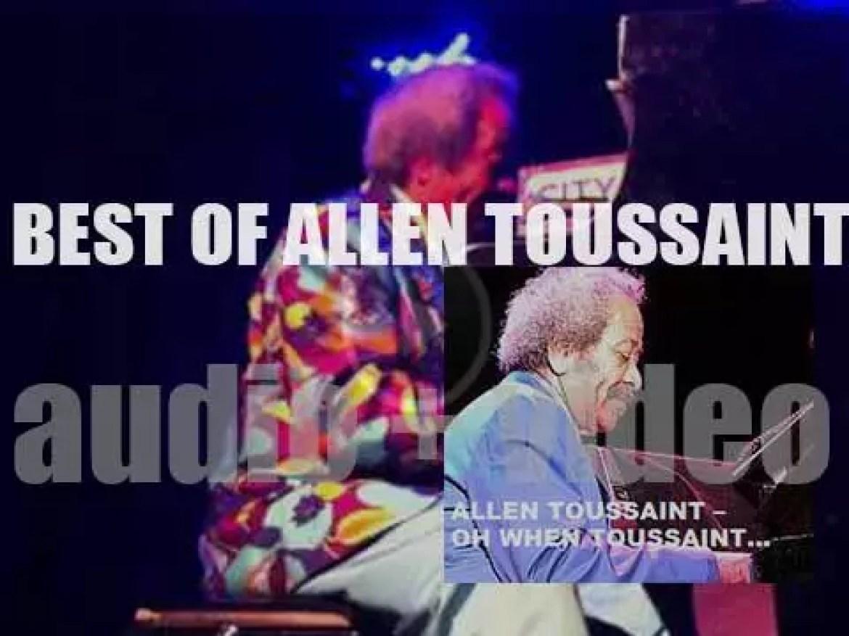 We remember Allen Toussaint. 'Oh When Toussaint…'