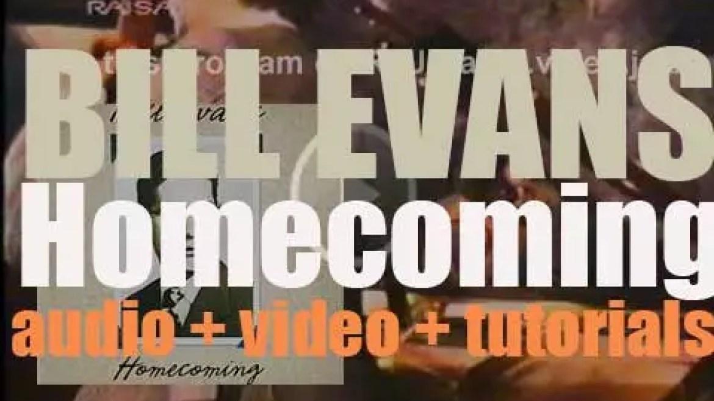 Bill Evans records 'Homecoming' live at the Southeastern Louisiana University (1979)