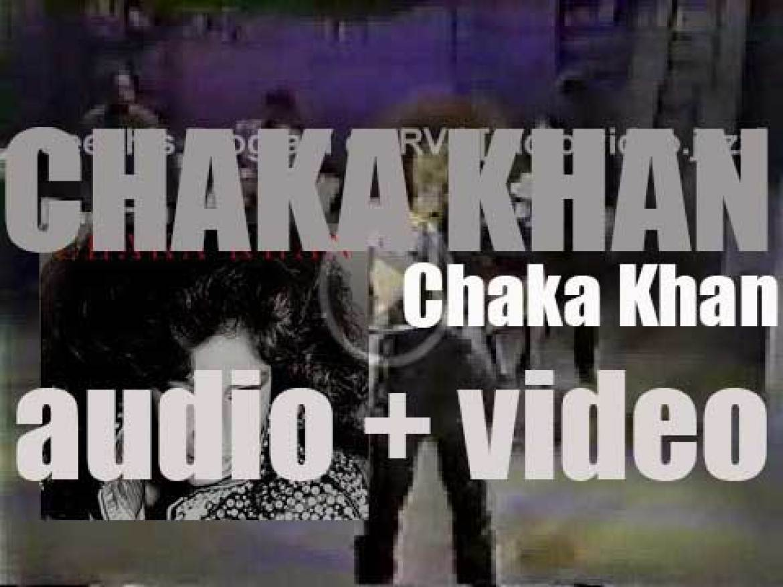 Warner Bros. publish 'Chaka Khan' her eponymous fourth solo album (1982)