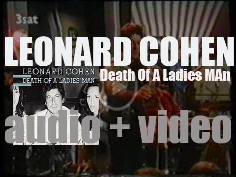 Warner Bros. publish Leonard Cohen's fifth album : 'Death of a Ladies' Man' (1977)