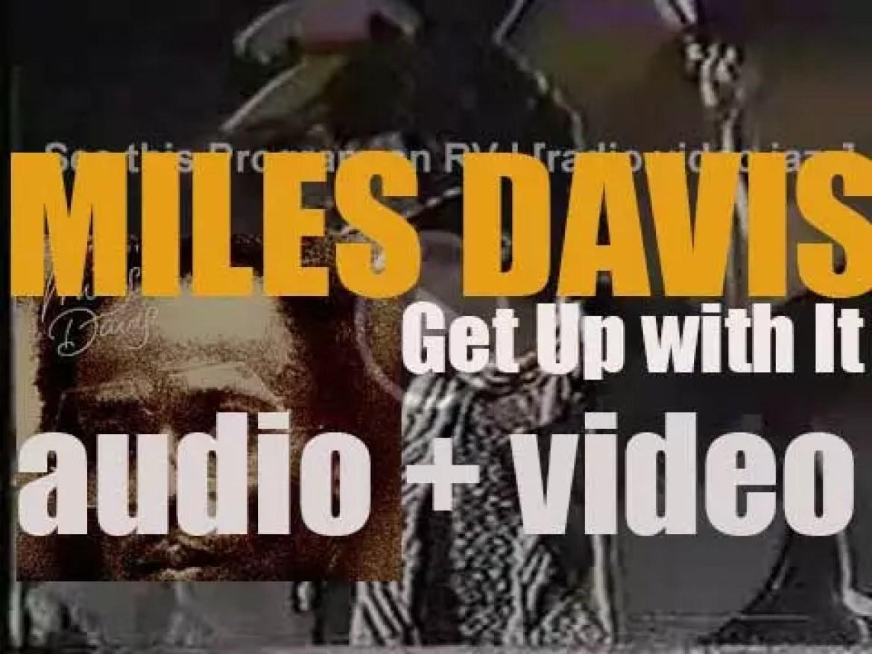 Columbia publish Miles Davis' album : 'Get Up with It' (1974)