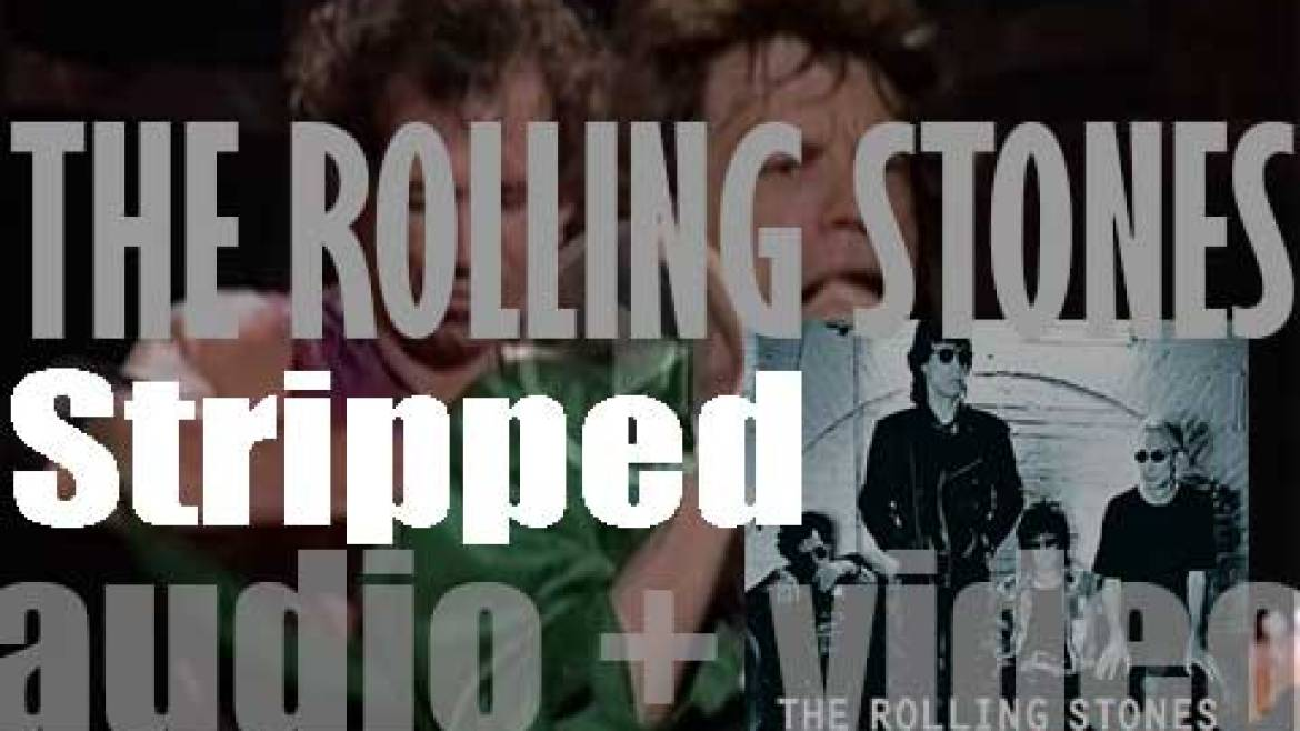 Virgin publish The Rolling Stones' album :  'Stripped' (1995)