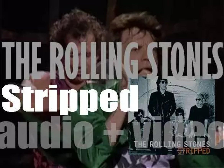 Virgin publish The Rolling Stones' album :  'Stripped' (1995)