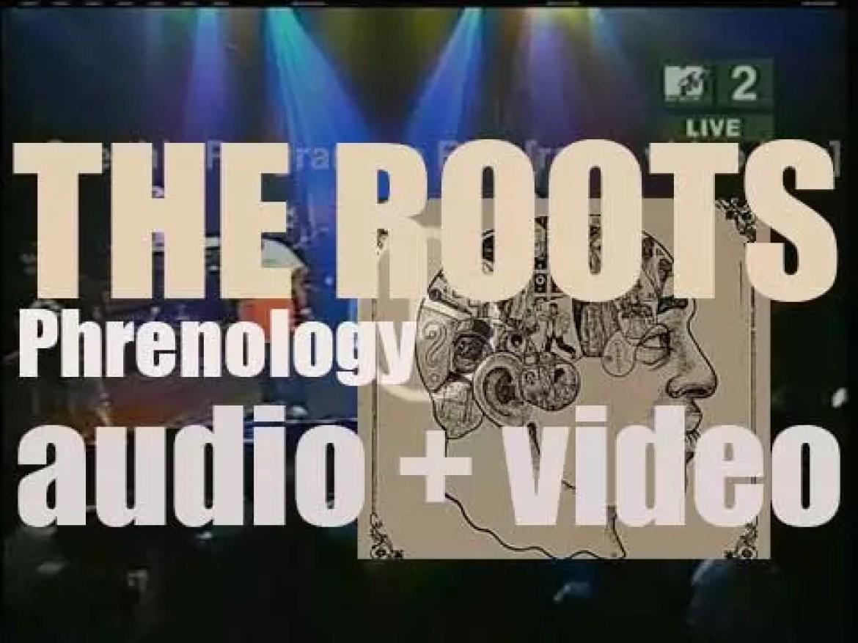 The Roots release their fifth album 'Phrenology' recorded with  Cody Chesnutt, Musiq Soulchild, Talib Kweli and Jill Scott (2002)