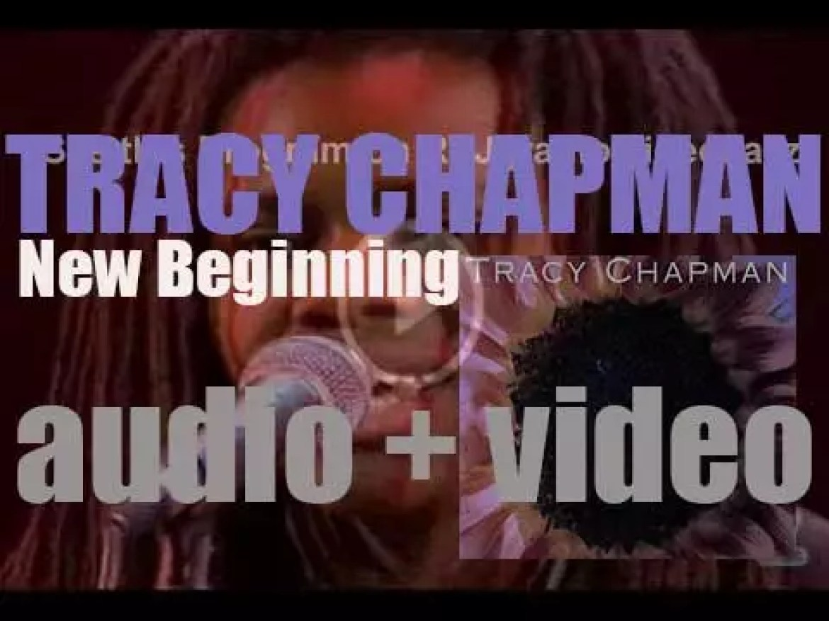 Elektra publish Tracy Chapman's fourth album : 'New Beginning' featuring 'Give Me One Reason' (1995)