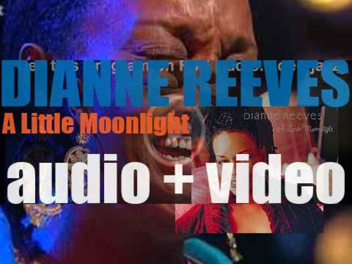 Dianne Reeves begins the recording of 'A Little Moonlight' featuring Broadway standards (2002)