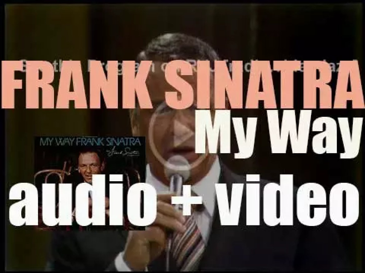 Frank Sinatra records 'My Way,' an album produced By Don Costa and  Sonny Burke, for Reprise (1969)