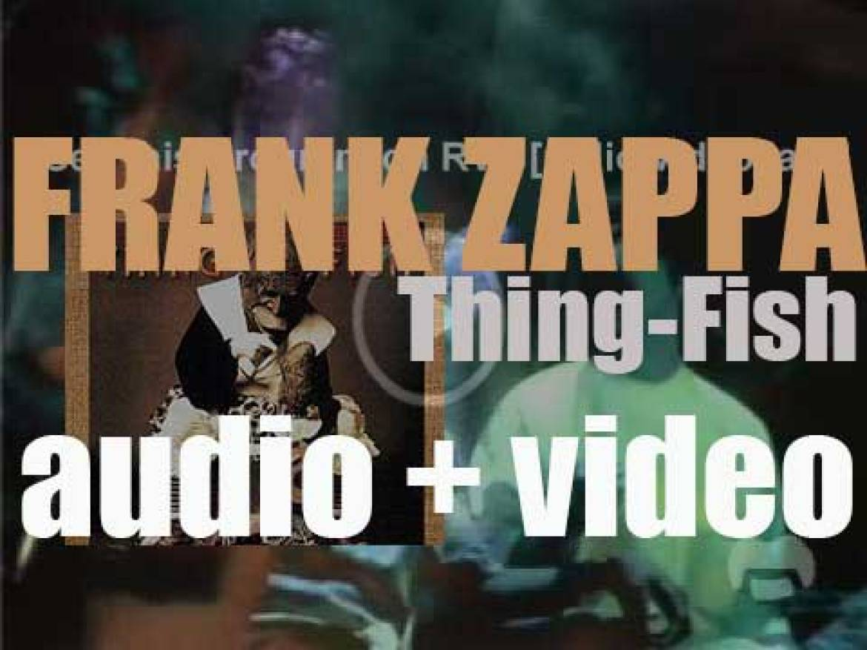 Barking Pumpkin publish Frank Zappa's 'Thing-Fish,' a triple album box set (1984)