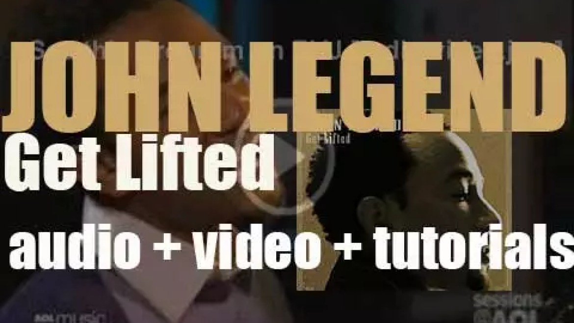 John Legend releases his debut album : 'Get Lifted' featuring 'Ordinary People' (2004)