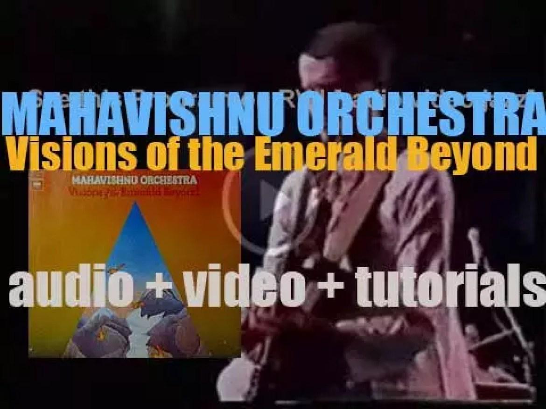 Mahavishnu Orchestra records the album 'Visions of the Emerald Beyond' for Columbia (1975)