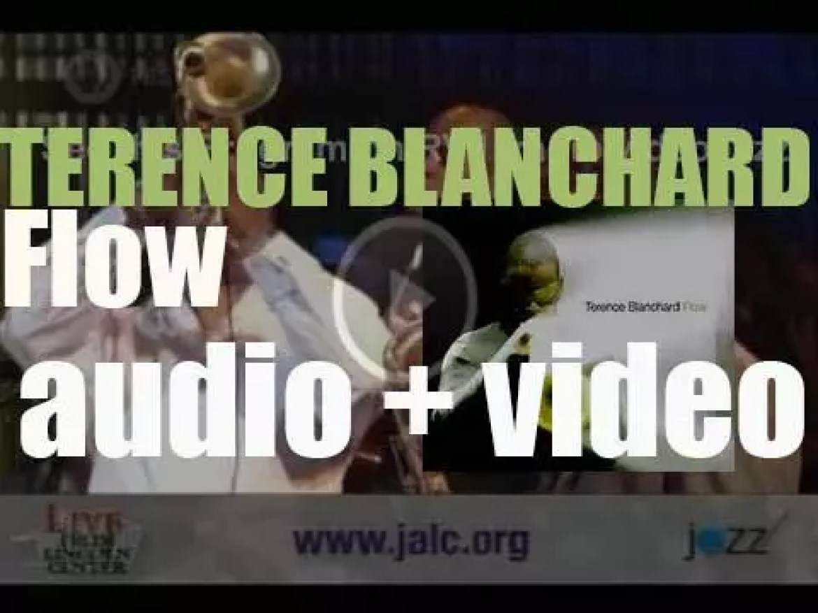Terence Blanchard records 'Flow,' an album produced by Herbie Hancock (2004)