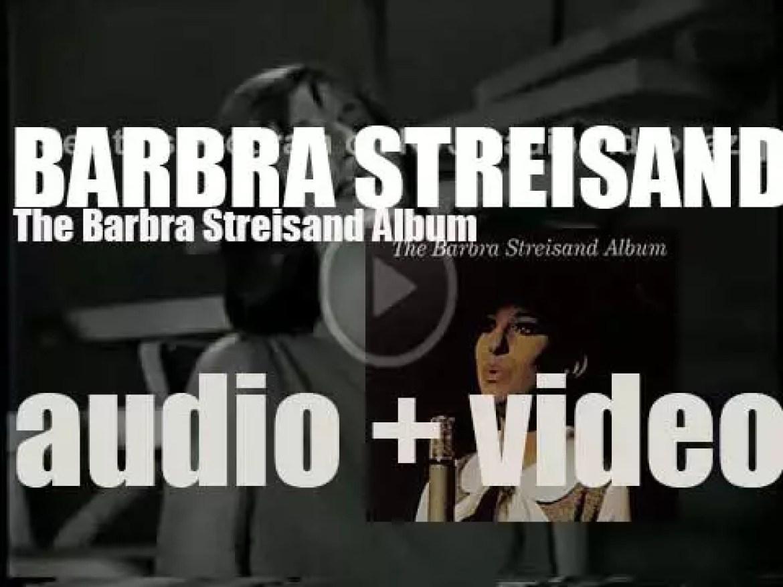 Barbra Streisand records her debut album : 'The Barbra Streisand Album' for Columbia (1963)
