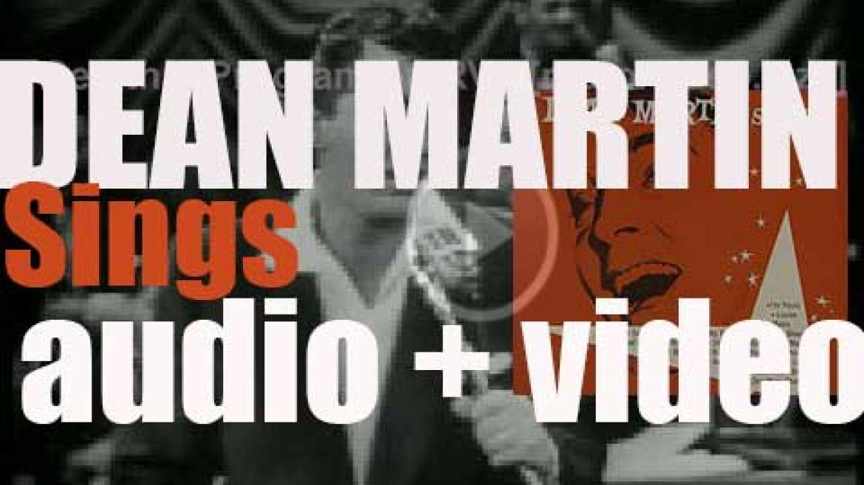 Dean Martin releases his first studio album : 'Dean Martin Sings' (1953)