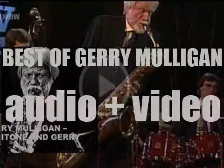 We remember Gerry Mulligan. 'Baritone And Gerry'