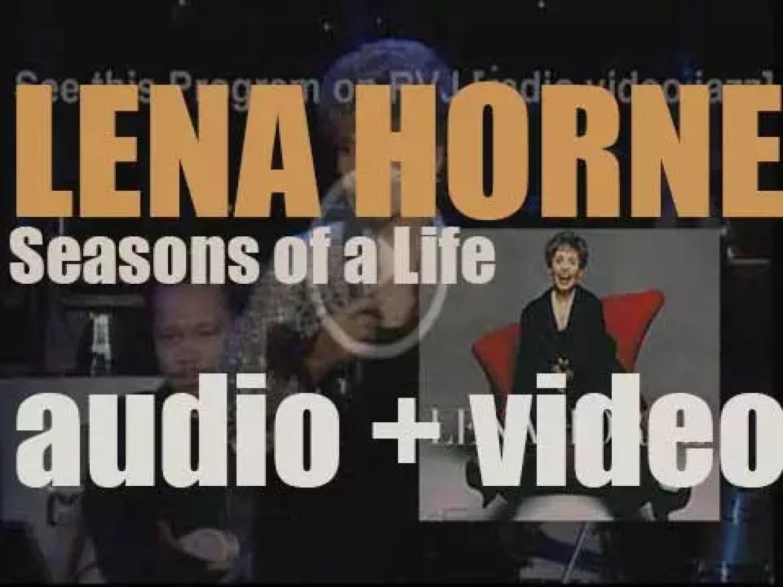 Blue Note publish Lena Horne's last album : 'Seasons of a Life' (2006)