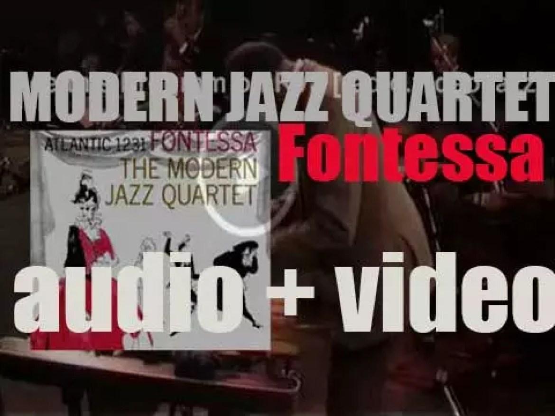 Modern Jazz Quartet records 'Fontessa,' an album for Atlantic (1956)