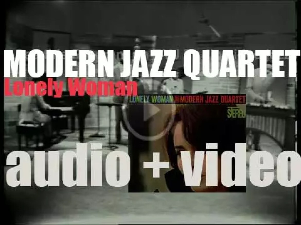Modern Jazz Quartet begins the recording of 'Lonely Woman,' an album for Atlantic (1962)