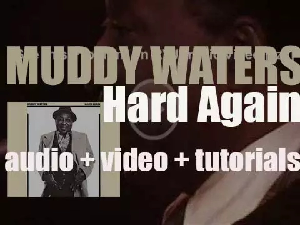 Muddy Waters releases the album 'Hard Again' produced by Johnny Winter (1977)
