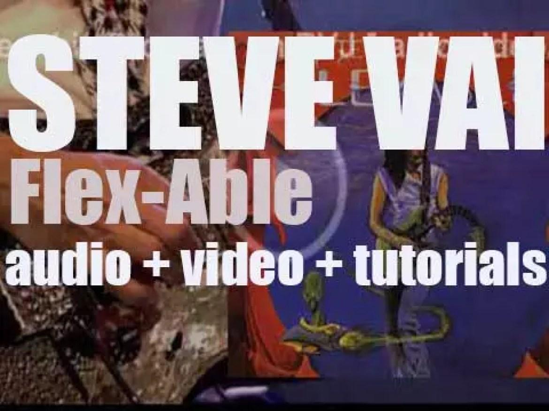 Steve Vai releases his debut album : 'Flex-Able' (1984)