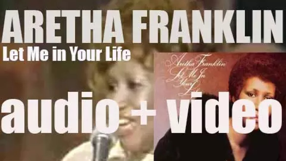 'Let Me in Your Life' is Aretha Franklin's twenty-second studio album, co-produced with Jerry Wexler (1974)