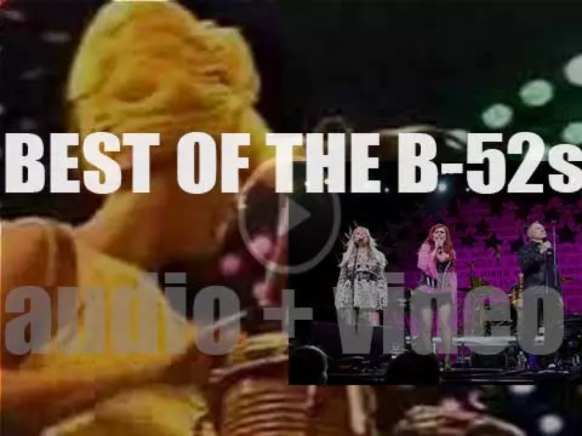 As we wish today, Cindy Wilson a Happy Birthday, the day is perfect for a 'B-52s At Their Bests' post