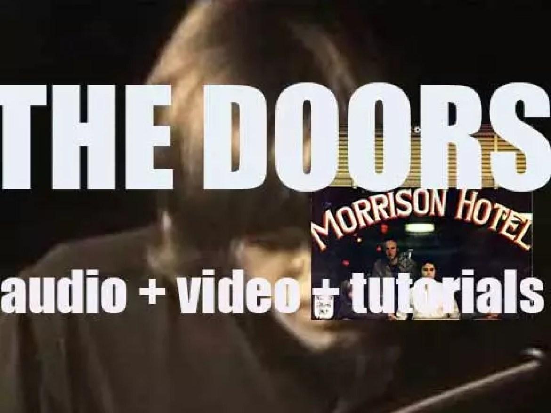 Elektra publish The Doors' fifth album : 'Morrison Hotel' (1970)