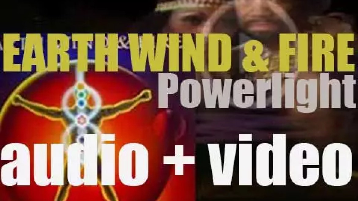 Columbia publish Earth, Wind & Fire's twelfth album : 'Powerlight' featuring 'Fall in Love with Me' (1983)