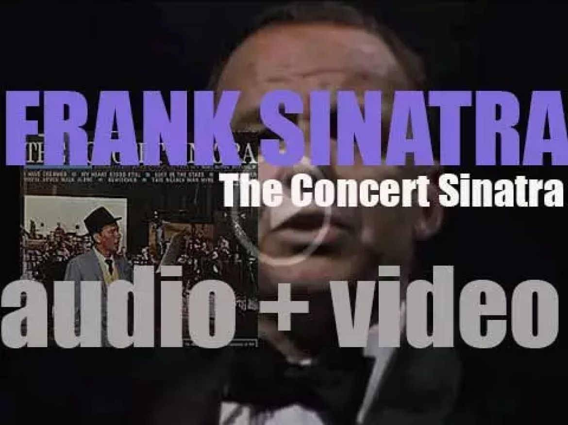 Frank Sinatra records 'The Concert Sinatra' with a large orchestra conducted by Nelson Riddle (1963)