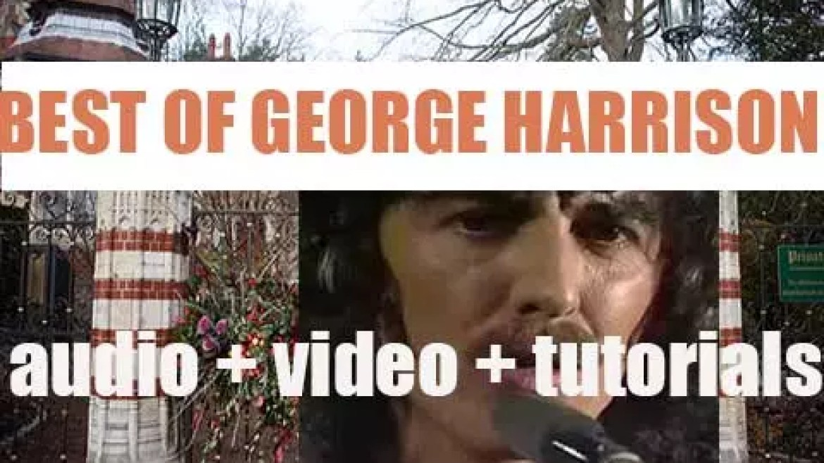 We remember George Harrison. 'George The Fab'