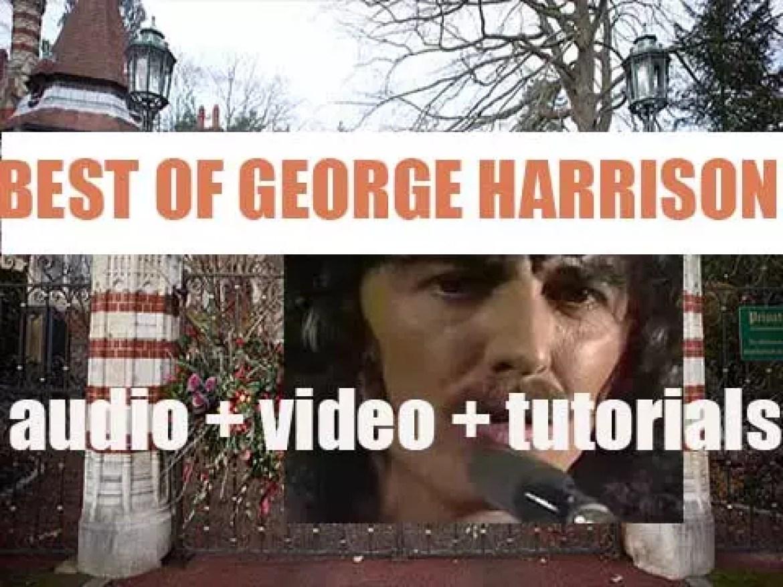 We remember George Harrison. 'George The Fab'