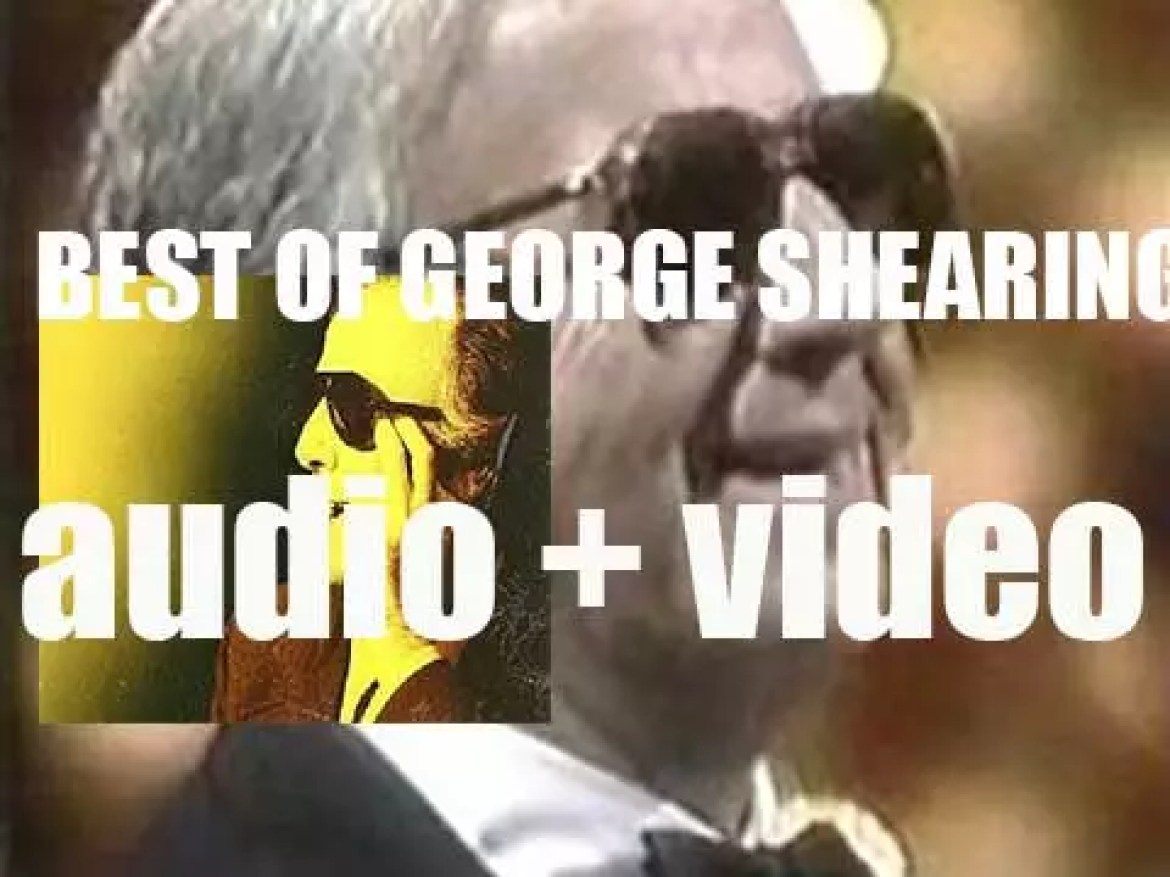 We remember George Shearing. 'The Lullaby of  Shearing Land'