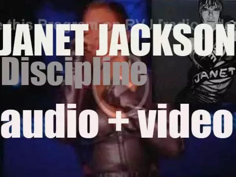 Island publishes their first & last Janet Jackson's album : 'Discipline' (2008)