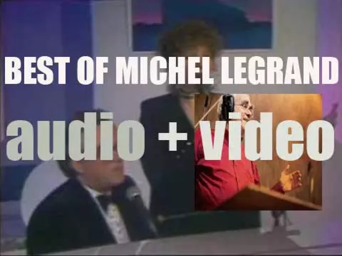We remember French composer & conductor Michel Legrand