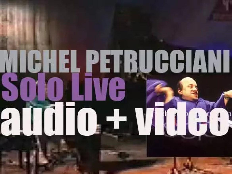 Michel Petrucciani records 'Solo Live' at The 'Alte Oper' In Frankfurt (1997)