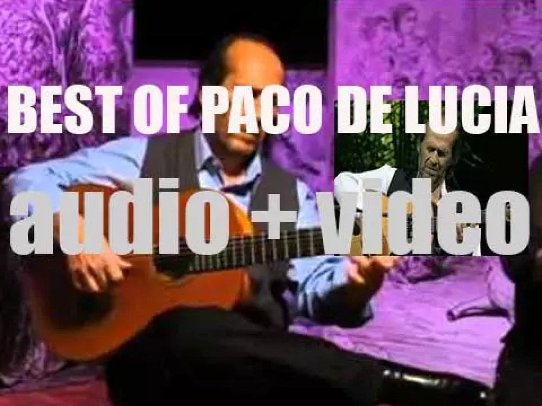 We remember Paco De Lucia. 'Un Poco De Paco'