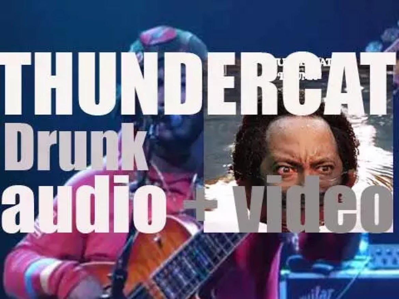 Thundercat releases 'Drunk' featuring Kenny Loggins, Michael McDonald, Kendrick Lamar, Wiz Khalifa & Pharrell as guests (2017)