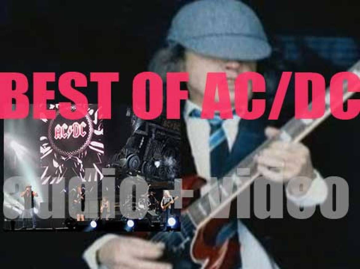 Happy Birthday Angus Young. The perfect day for a 'AC/DC at their Best'