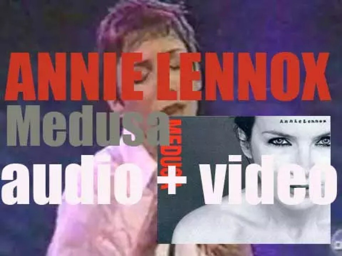 Annie Lennox releases her second solo album : 'Medusa' featuring 'No More I Love You's' (1995)