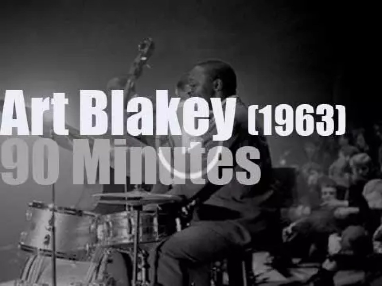 Art Blakey & The Jazz Messengers attend Sanremo Jazz Festival (1963)