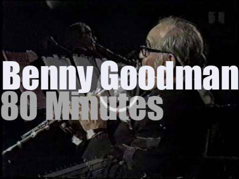 Benny Goodman & band perform in  Copenhagen (1972)