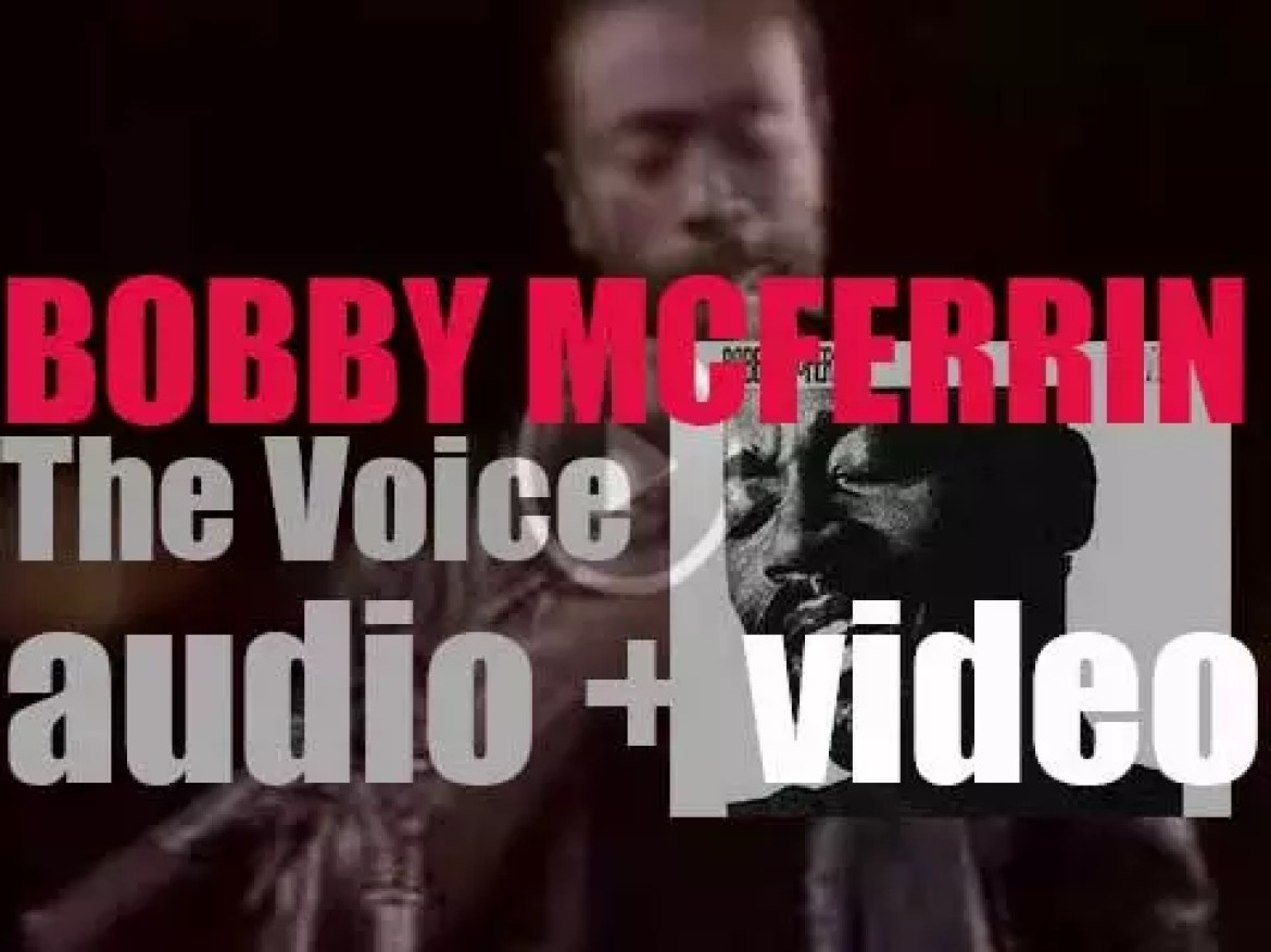 Starting today, Bobby McFerrin tours Germany where he will record 'The Voice,' a live album (1984)