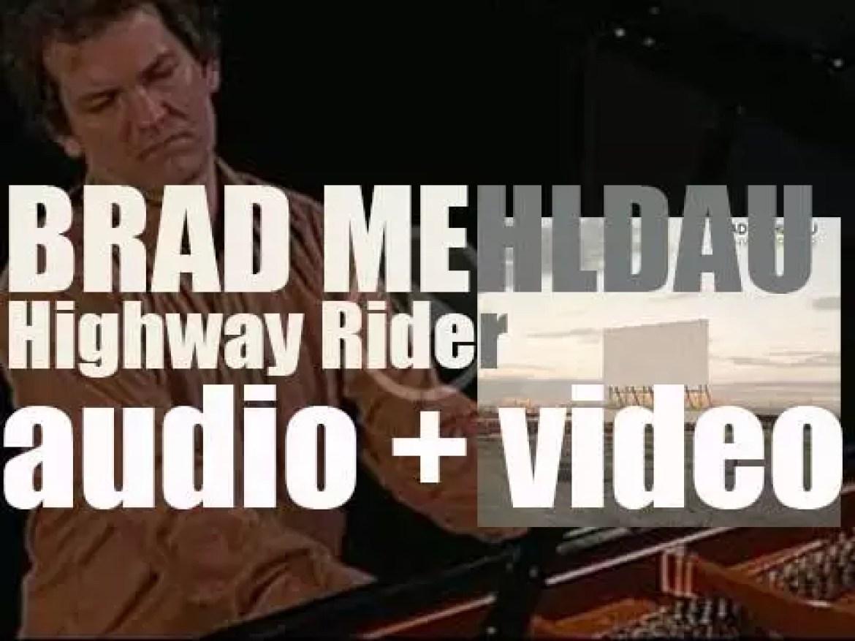 Brad Mehldau releases 'Highway Rider' recorded with Joshua Redman (2010)