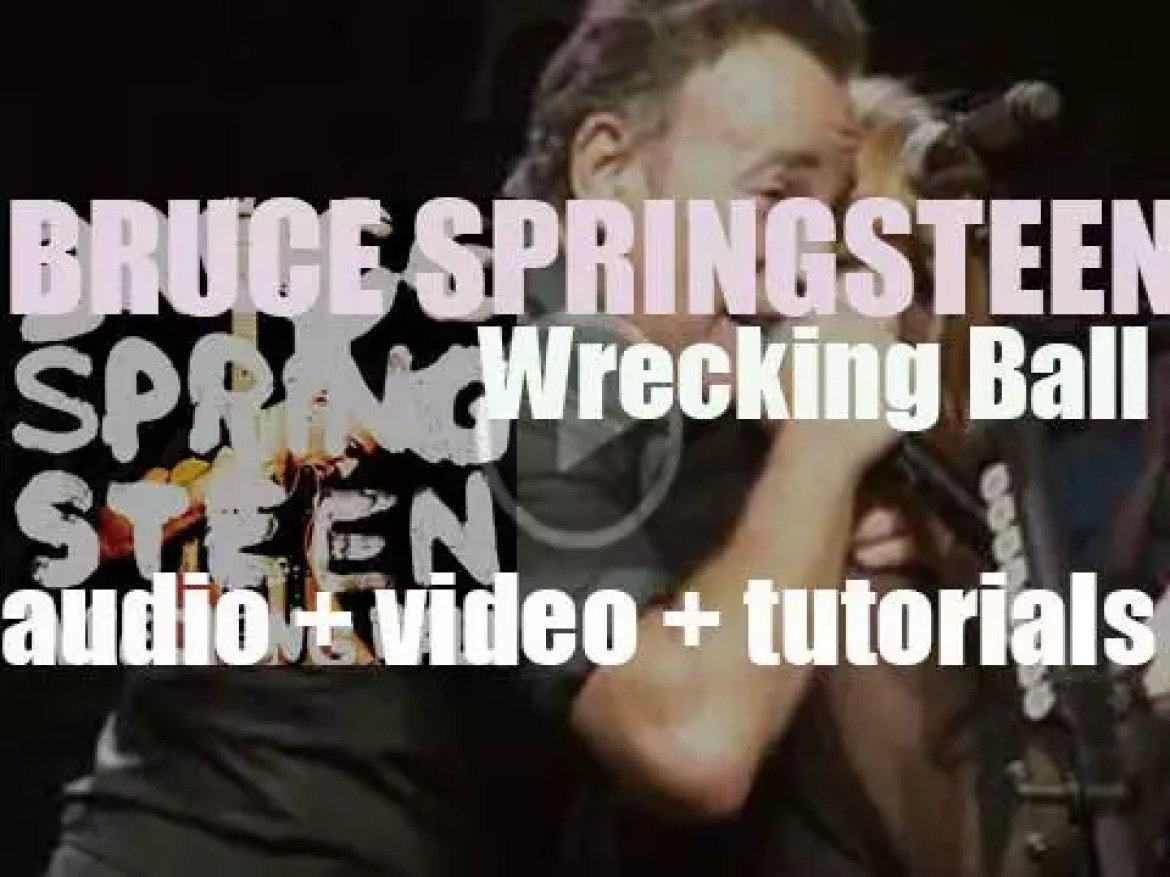 Bruce Springsteen releases his seventeenth album : 'Wrecking Ball' featuring 'We Take Care of Our Own' (2012)