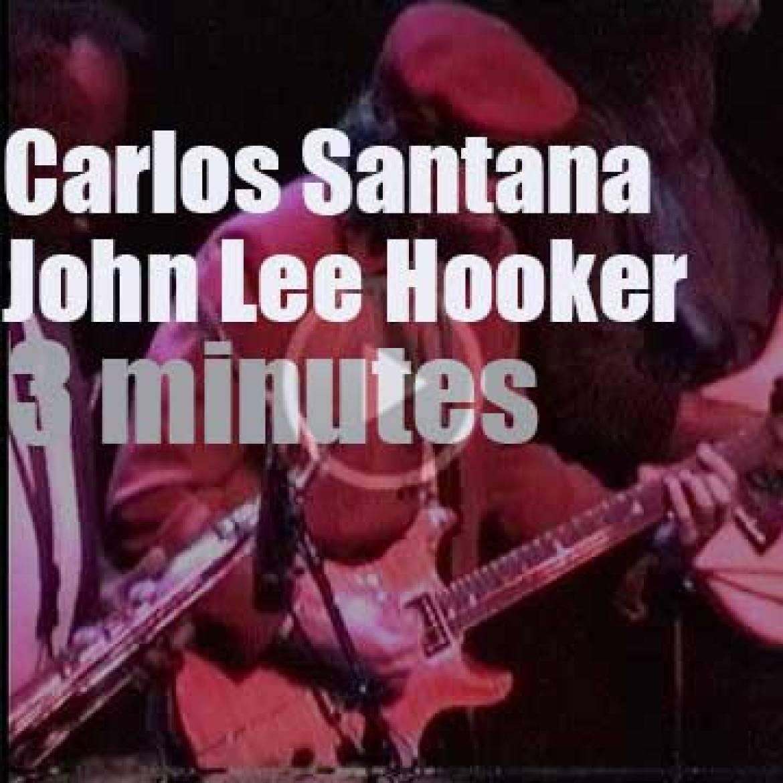 Carlos Santana sits in with John Lee Hooker at the Fillmore (1997)