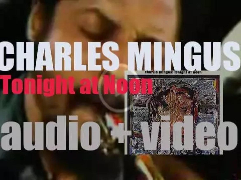 Charles Mingus records 'Tonight at Noon' at Atlantic Studios In New York (1961)